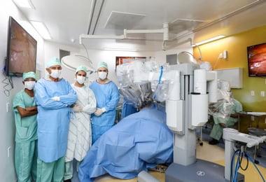 Hospital Santa Izabel alcança marca de 100 cirurgias robóticas