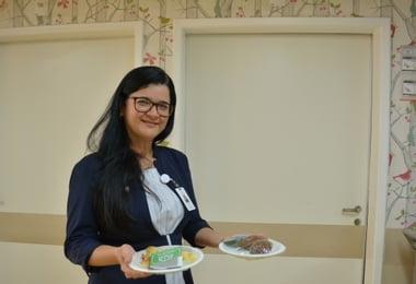 Dia do Desejo: Projeto permite que pacientes pediátricos escolham suas refeições