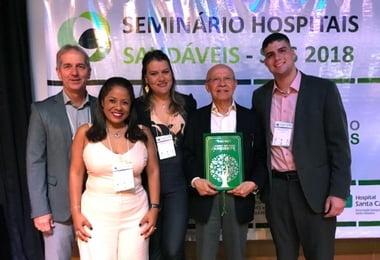 Hospital Santa Izabel ganha prêmio nacional de sustentabilidade