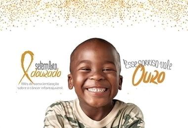 Campanha Setembro Dourado alerta sobre diagnóstico precoce do câncer infantojuvenil