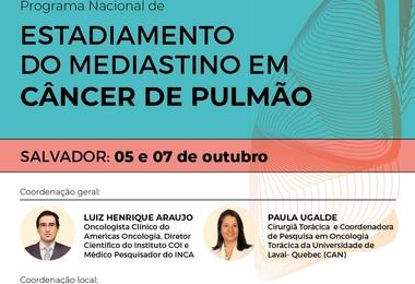 Estadiamento do Mediastino em Câncer de Pulmão - 05 e 07 de outubro