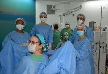 Hospital Santa Izabel realiza procedimento cirúrgico oncológico inédito na Bahia
