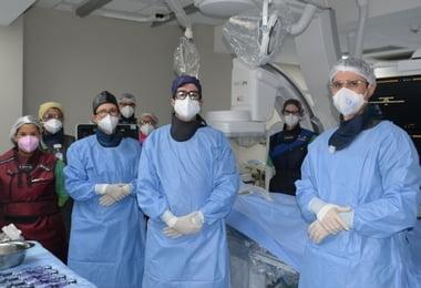 Procedimento Cirurgia Vascular na Hemodinâmica