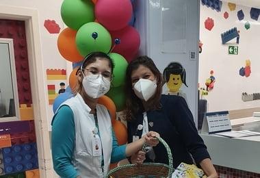 Semana da Criança no Hospital Santa Izabel  tem atividades lúdicas e de acolhimento
