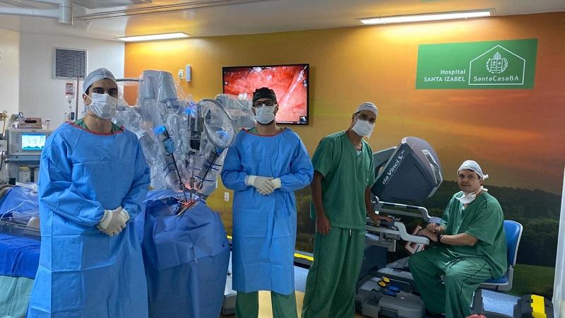 Hospital Santa Izabel realiza cirurgia robótica pioneira para tratamento da apneia do sono