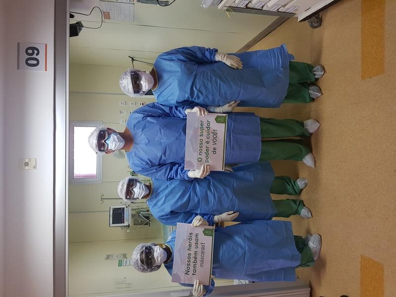 Hospital Santa Izabel intensifica ações de cuidado contra o novo coronavírus