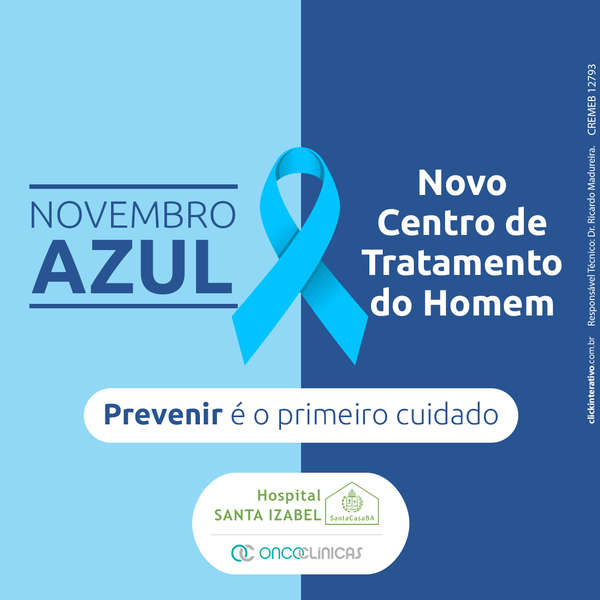 Hospital Santa Izabel amplia alerta e cria centro especializado em saúde masculina