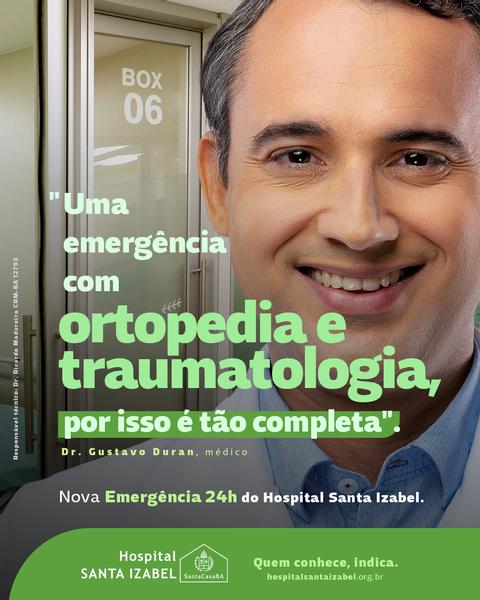 Nova Emergência do Hospital Santa Izabel oferece eficiência, segurança e mais conforto