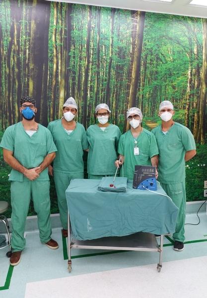 HSI realiza cirurgia pioneira no Brasil para retirada de lesões malignas com mais precisão