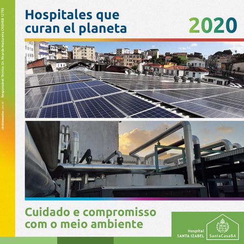 Publicação especializada destaca cuidado do  Hospital Santa Izabel com o meio ambiente