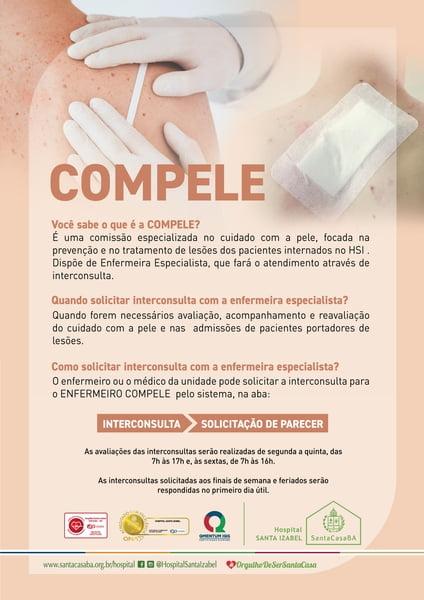 Compele do Hospital Santa Izabel promove encontro de capacitação e atualização