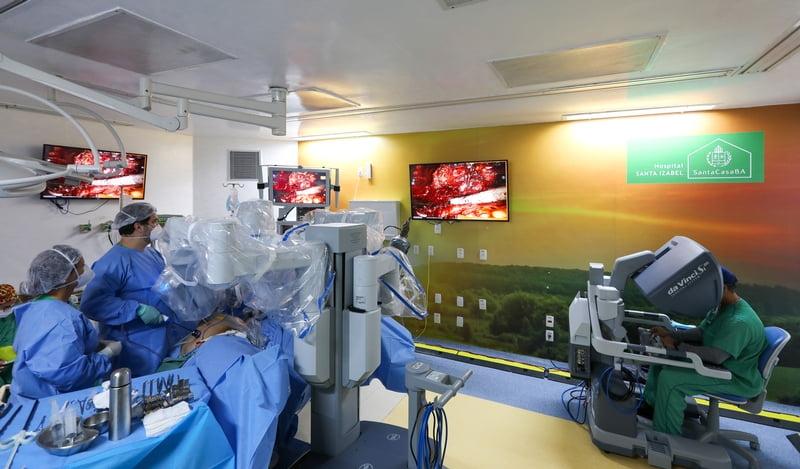 Hospital Santa Izabel completa 700 cirurgias robóticas