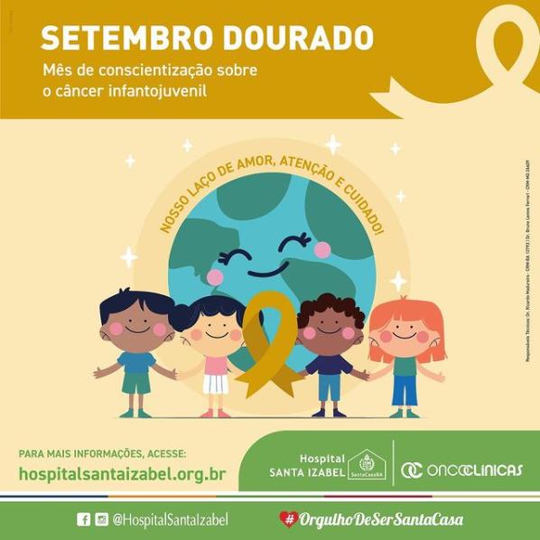 Diagnóstico precoce favorece terapêutica e cura do câncer infantojuvenil
