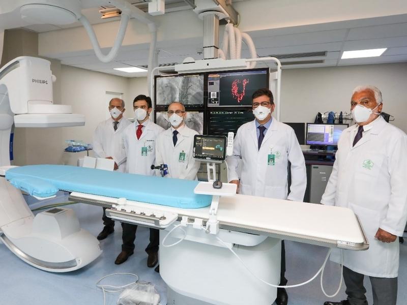 Nova Hemodinâmica do Hospital Santa Izabel é inaugurada nesta sexta-feira